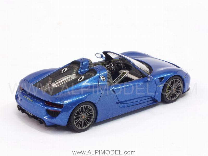 Minichamps Porsche 918 Spyder Final 2013 Sapphire Blue
