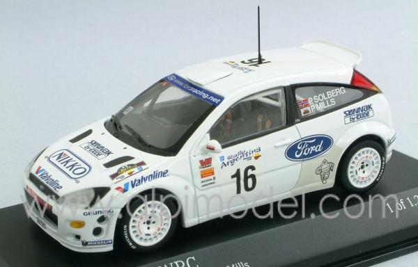 Minichamps Ford Focus Wrc Rally Argentina 2000 P