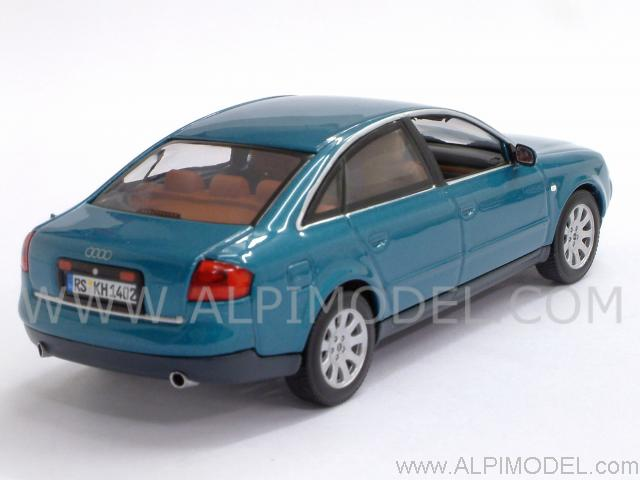 Minichamps Audi A6 Saloon 1997 Turmalin Metallic 1 43