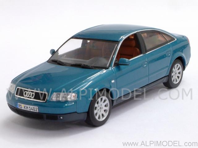 Minichamps Audi A6 Saloon 1997 Turmalin Metallic 1 43