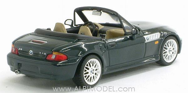 Minichamps Bmw Z3 1999 Oxford Green 1 43 Scale Model