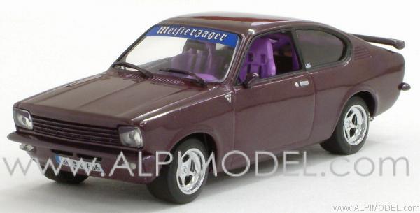 minichamps opel kadett c coupe sport special purple metallic 1 43 scale model. Black Bedroom Furniture Sets. Home Design Ideas