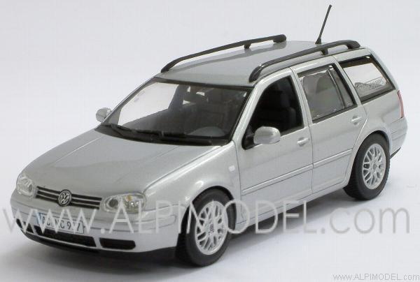minichamps volkswagen golf iv variant 39 minichamps 39 silver. Black Bedroom Furniture Sets. Home Design Ideas
