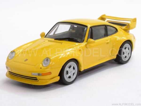 minichamps porsche 911 gt2 1995 speed yellow 1 43 scale model. Black Bedroom Furniture Sets. Home Design Ideas