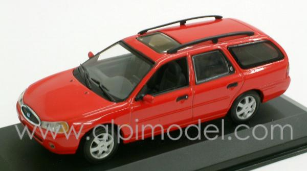 minichamps ford mondeo break 1997 red 1 43 scale model. Black Bedroom Furniture Sets. Home Design Ideas