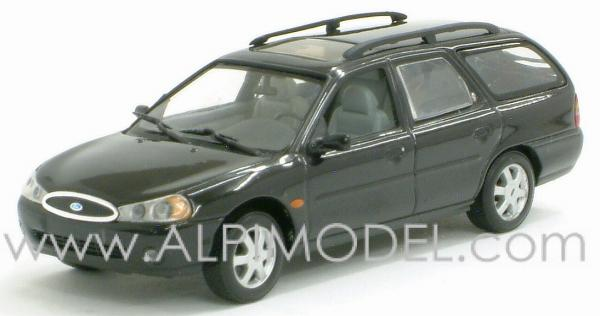 minichamps ford mondeo break 1997 black 1 43 scale model. Black Bedroom Furniture Sets. Home Design Ideas