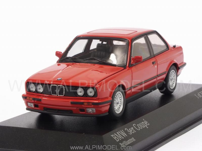 Minichamps Bmw Series 3 E30 1989 Brilliant Red 1 43
