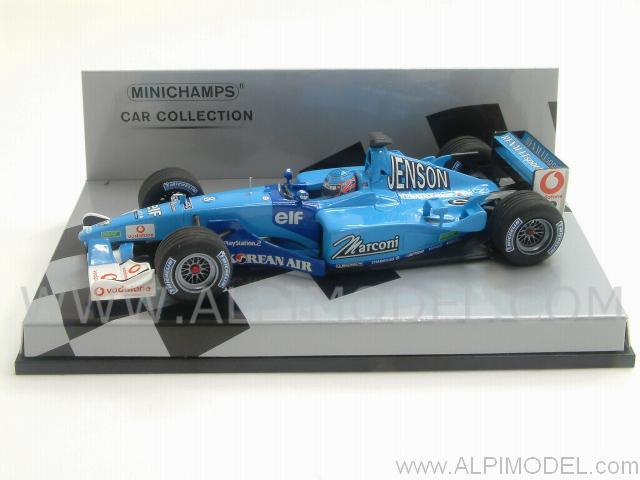 minichamps Benetton B201 Renault 2001 Jenson Button ...