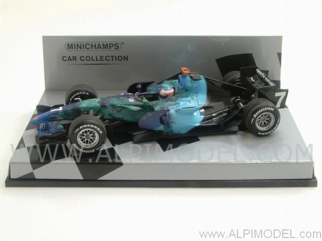 minichamps Honda RA107 2007 Jenson Button 'Minichamps car ...