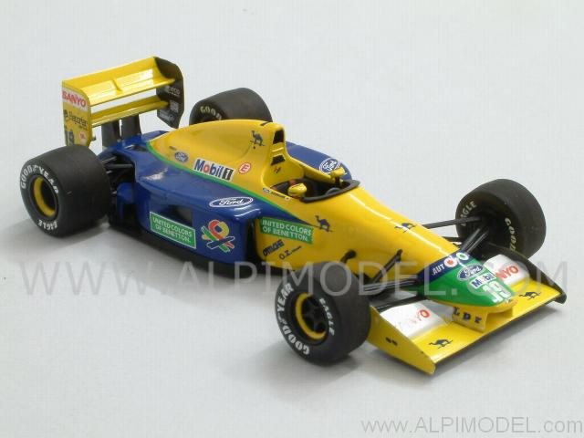 Benetton B191B Ford 1992 Michael Schumacher 39;Minichamps Car Collection