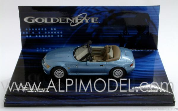 Minichamps Bmw Z3 007 James Bond Goldeneye 1 43 Scale Model