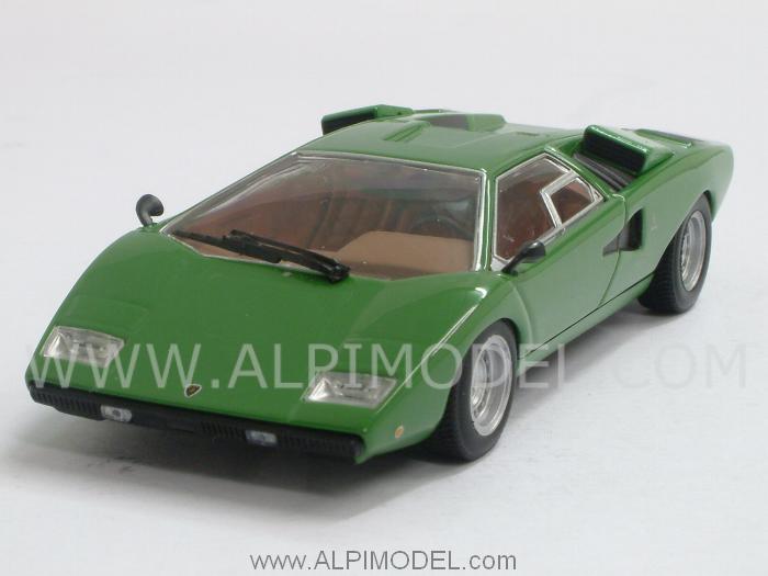 Minichamps Lamborghini Countach Lp400 1974 Green