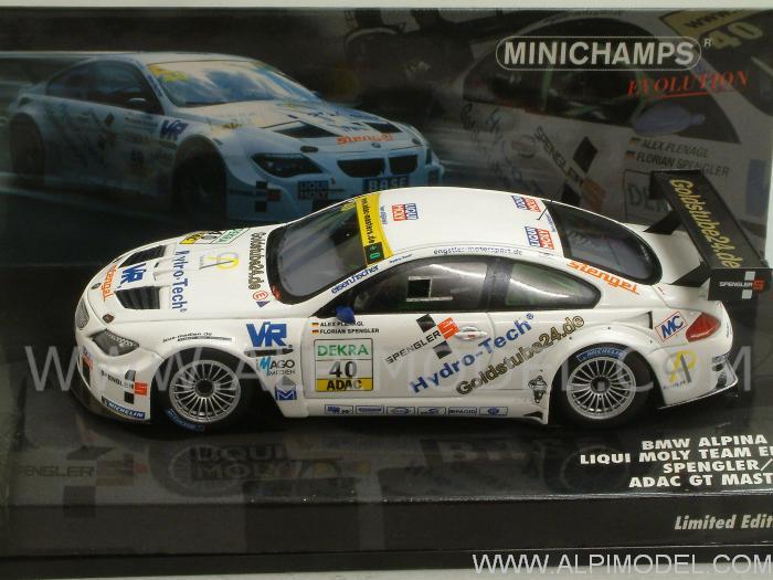 Bmw Alpina B6 >> minichamps BMW Alpina B6 GT3 #40 ADAC GT Master 2011 Spengler - Plenagal (1/43 scale model)
