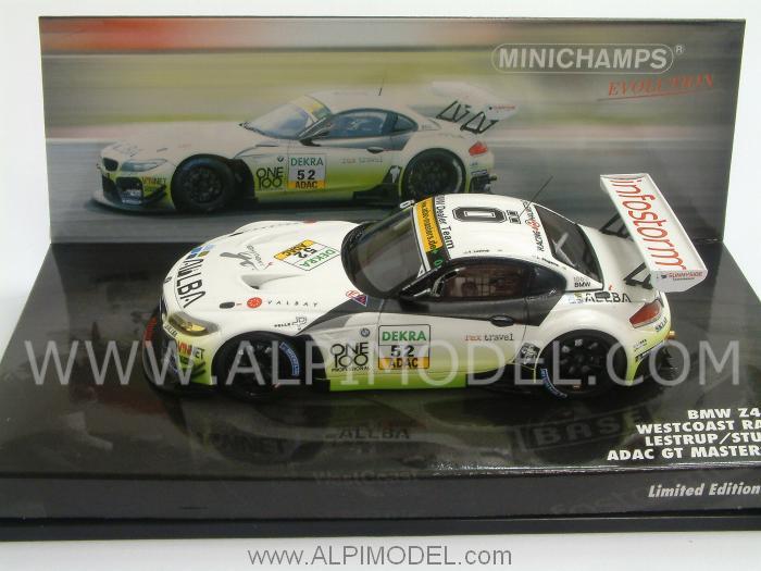 Minichamps Bmw Z4 Gt3 Westcoast Racing 52 Adac Gt Masters