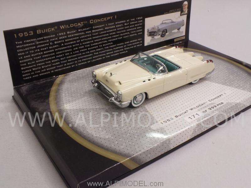 Minichamps Buick Wildcat Concept 1 1953 The Real Dream Cars Bortz Auto Collection 1 43 Scale Model
