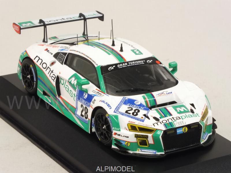 Minichamps Audi R8 Lms Montaplast 28 24h Nurburgring 2016