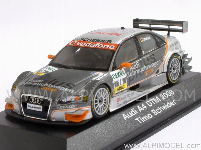 minichamps audi a4 39 audi gebrauchtwagen plus 39 16 dtm 2006. Black Bedroom Furniture Sets. Home Design Ideas