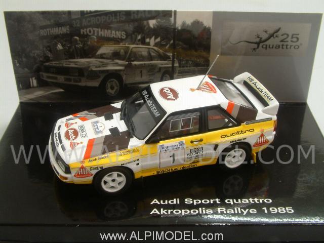 Minichamps Audi Sport Quattro 1 Rally Acropolis 1985