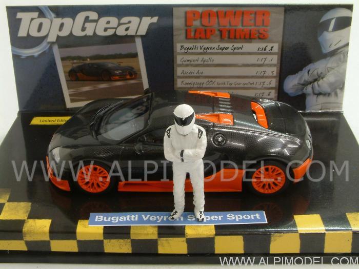 minichamps bugatti veyron super sport 2011 top gear world. Black Bedroom Furniture Sets. Home Design Ideas