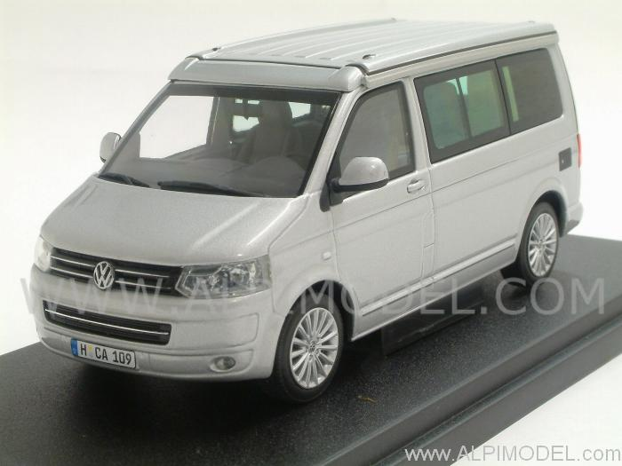 minichamps volkswagen t5 california silver vw promo 1 43 scale model. Black Bedroom Furniture Sets. Home Design Ideas