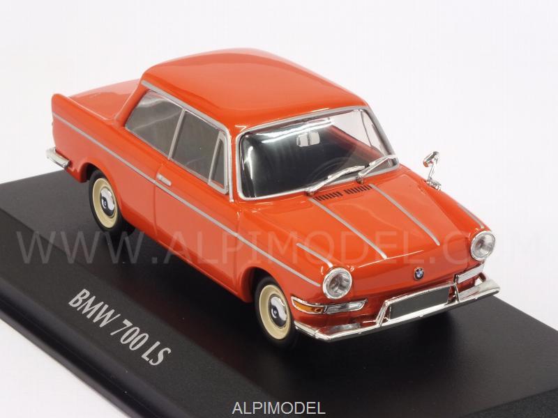 Minichamps Bmw 700 Ls 1960 Red Maxichamps 1 43 Scale
