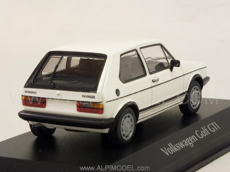 minichamps volkswagen golf gti 1983 white 39 maxichamps 39 series 1 43 scale model. Black Bedroom Furniture Sets. Home Design Ideas