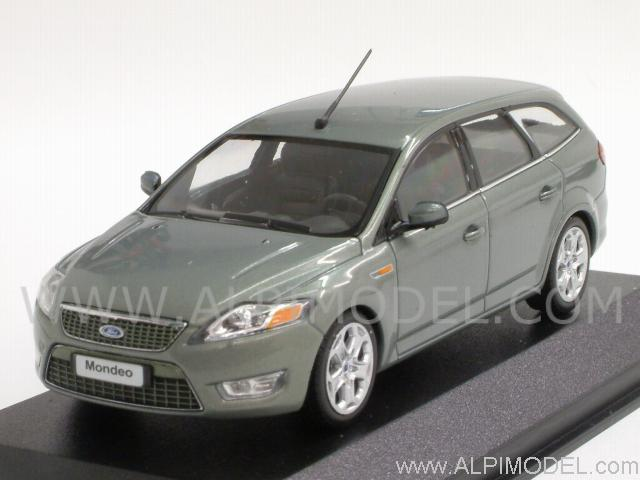 minichamps ford mondeo sw turnier 2007 grey metallic 1 43 scale model. Black Bedroom Furniture Sets. Home Design Ideas