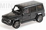 Brabus G V12 800 Widestar 2010 (Grey Metallic) by MINICHAMPS