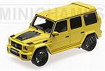 Brabus 850 6.0 Biturbo Widestar auf basis Mercedes AMG G63 2016 (Yellow) by MINICHAMPS