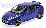 Ford Focus ST 2011  (Blue Metallic) by MINICHAMPS