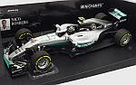 Mercedes W07 AMG Hybrid GP Abu Dhabi 2016 World Champion Nico Rosberg by MINICHAMPS