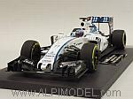 Williams Martini Racing Mercedes FW37 Abu Dhabi GP 2015  Valtteri Bottas (HQ Resin) by MINICHAMPS