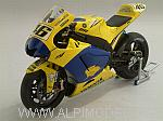 Yamaha YZR-M1 MotoGP Sachsenring 2006 Dirty Version - Valentino Rossi - Limited Edition 1999pcs. by MINICHAMPS