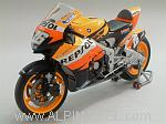 Honda RC212V Vice World Champion MotoGP 2007 Dani Pedrosa by MINICHAMPS