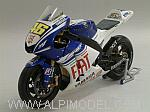 Yamaha YZR-M1 Winner GP Indianapolis  2008 World Champion Valentino Rossi - Dirty Version/Rain tyres by MINICHAMPS