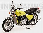 Honda Gold Wing GL 1000 K3 1975 (Yellow) by MINICHAMPS