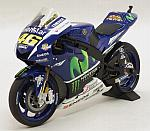 Yamaha YZR-M1 Movistar Winter  Test Bike Sepang MotoGP 2016 Valentino Rossi by MINICHAMPS