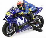Yamaha YZR-M1 MotoGP Mugello 2018 Valentino Rossi (with figure) by MINICHAMPS