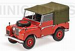 Land Rover 1948 Red by MINICHAMPS
