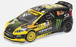 Ford Fiesta RS WRC #46 Rally Monza 2016 V.Rossi - Cassina by MINICHAMPS