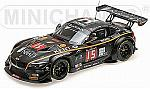 BMW Z4 GT3 (E89) #15 Boutsen Ginion Racing 24h Spa 2015 Grotz - Ojjeh - Grogor - Hamprecht by MINICHAMPS