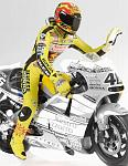 Valentino Rossi figure World Champion 2001 by MINICHAMPS