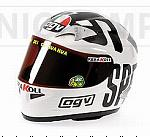 Helmet AGV GP Philip Island 2004 World Champion MotoGP 2004 Valentino Rossi (scale 1/2 - 14cm ) by MINICHAMPS