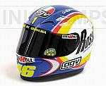 Helmet AGV MotoGP Sepang 2005 World Champion Valentino Rossi (1/2 scale - 13cm) by MINICHAMPS