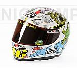 Helmet AGV MotoGP Valencia 2005 World Champion Valentino Rossi (1/2 scale - 13cm) by MINICHAMPS
