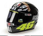 Helmet AGV MotoGP Jerez Test Version 2007 Valentino Rossi (1/2 scale - 13cm) by MINICHAMPS