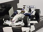 Sauber C24B BMW Test Valencia February 2006 Jacques Villeneuve by MINICHAMPS