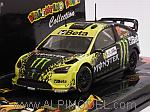 Ford Focus RS WRC Beta Monster  Rally Monza 2009 Valentino Rossi by MINICHAMPS