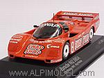 Porsche 962 IMSA Swap Shop #8 Winner 12h Sebring 1985 Foyt - Wollek by MINICHAMPS
