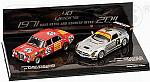 Mercedes Set Tribute To Heyer - Mercedes 300 SEL 6.8 AMG 1971+ Mercedes SLS GT3 2011 by MINICHAMPS